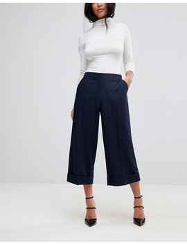 Asos Petite Mix & Match Tailored Clean Culotte by Asos Petite