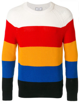 Striped Round Neck Jumper by Ami Alexandre Mattiussi