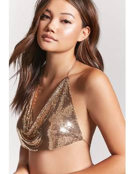 Chainmail Body Chain Bralette by Forever 21