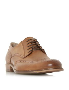 Banbury Leather Brogue Shoes by Dune