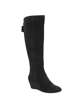 "Anne Klein ""Azriel"" Wedge Boots by Bon Ton"