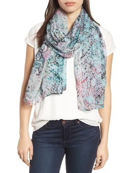 Silk Chiffon Oblong Scarf by Nordstrom