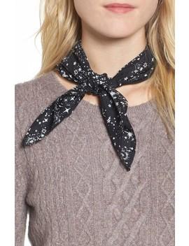 Print Silk Neckerchief by Treasure & Bond