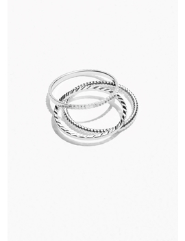 Stack &Amp; Layer Ring Set by & Other Stories