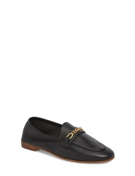 Key Trim Chain Loafer by Topshop