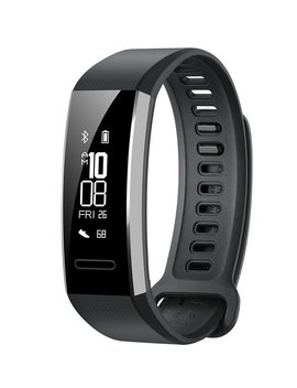 Huawei Band 2 Pro All In One Activity Tracker Smart Fitness Wristband | Gps | Multi Sport Mode| Heart Rate | Sleep Monitor | 5 Atm Waterproof, Black (Us Warranty) by Huawei
