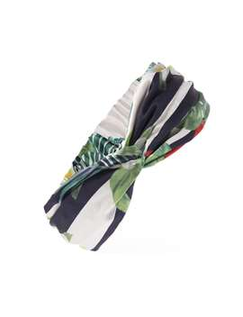 Tropical Floral Print Headwrap by Forever 21