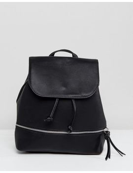Stradivarius Zip Detail Backpack by Stradivarius