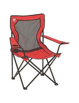 Coleman Broadband Mesh Quad Camping Chair by Coleman