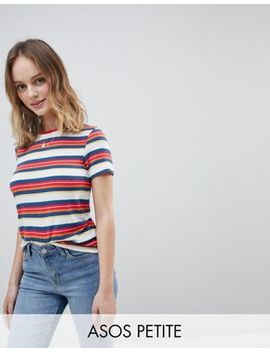 New Look Petite Stripe T Shirt by New Look Petite