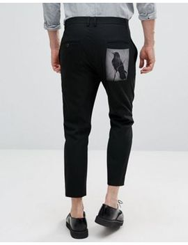 Religion Skinny Pants With Back Patch by Religion