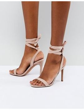 Asos Hatty Barely There Heeled Sandals by Asos Collection