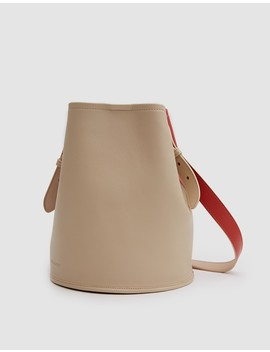 Small Bucket In Clove/Cappuccino by Need Supply Co.