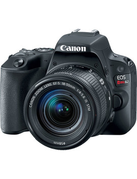 Eos Rebel Sl2 Dslr Camera With 18 55mm Lens (Black) by Canon