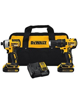 Dewalt Dck277 C2 20 V Max Compact Brushless Drill And Impact Combo Kit by Dewalt