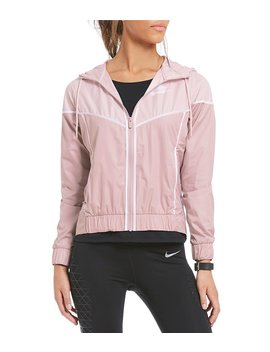 Nike Sportswear Blush Pink Windrunner Jacket by Nike
