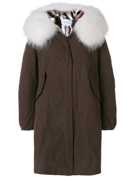 Fur Trim Parka by Forte Couture