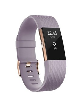 Fitbit® Charge 2 Heart Rate + Fitness Wristband   Rose Gold (Small) by Target