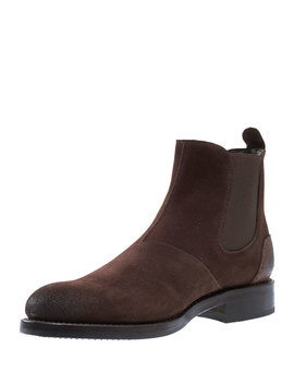 Montague Suede Chelsea Boot, Brown by Wolverine