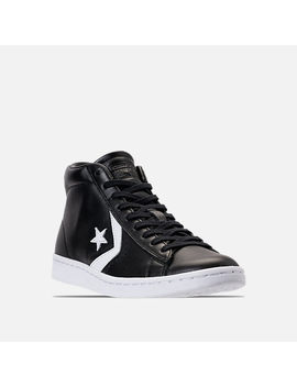 Women's Converse Pro Leather Mid Casual Shoes by Converse