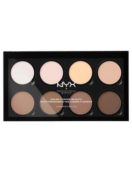 Nyx Professional® Makeup Highlight & Contour Pro Palette   0.09oz by Nyx Professional Makeup