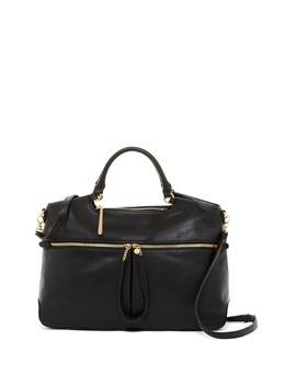 City Light Tote Leather Satchel Bag by Hobo
