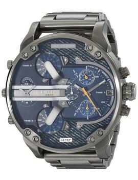 Diesel Men's Dz7331 Mr Daddy 2.0 Gunmetal Tone Stainless Steel Watch by Diesel