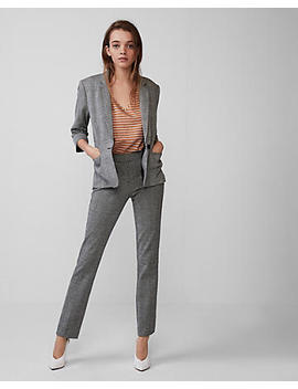 Cropped Sleeve Blazer by Express
