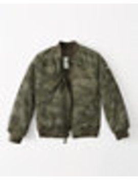Camo Bomber Jacket by Abercrombie & Fitch