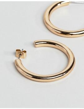 Weekday Ring Hoop Earrings by Weekday