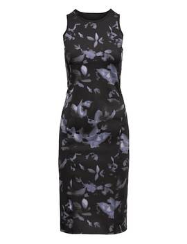 Life In Motion Reversible Floral Neoprene Pencil Dress by Banana Repbulic