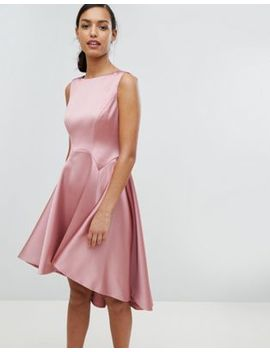 Ted Baker Tie The Knot Sculpted Skater Bridesmaid Dress by Ted Baker