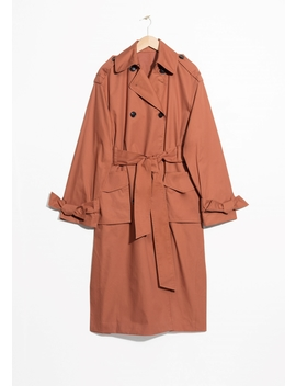 Belted Oversized Trenchcoat by & Other Stories