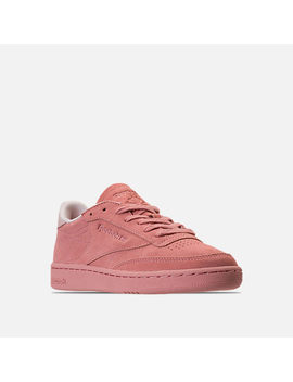 Women's Reebok Club C 85 Nubuck Casual Shoes by Reebok