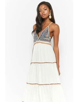 Brocade Cami Maxi Dress by Forever 21