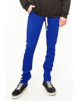 Bkys Striped Track Pants by Forever 21