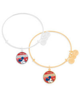 Mickey Mouse Banner Bangle By Alex And Ani by Disney