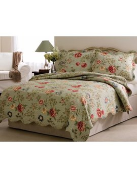 Edens Garden Quilt Set by American Traditions