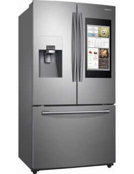 Family Hub 2.0 24.2 Cu. Ft. French Door Refrigerator   Stainless Steel by Samsung