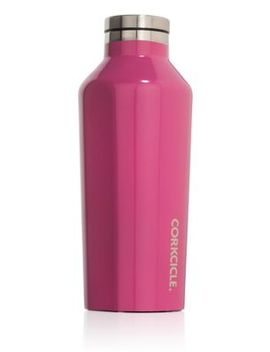 Corkcicle   Pink Small Stainless Steel Insulated Canteen Flask by Corkcicle