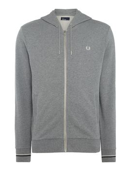 Hooded Sweatshirt by Fred Perry