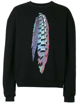 Genek Crewneck Sweatshirt by Marcelo Burlon County Of Milan