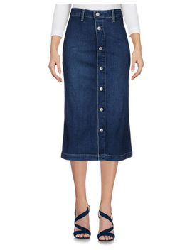 Denim Skirt by Alexa Chung For Ag