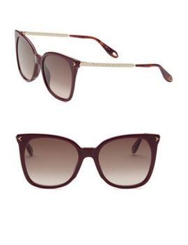 54 Mm Cat Eye Sunglasses by Givenchy