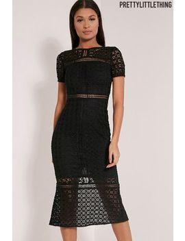 Pretty Little Thing Midira Crochet Lace Midi Dress by Next