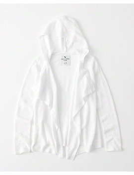 Lightweight Hooded Cardigan by Abercrombie & Fitch