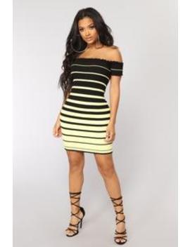Cailyn Mini Dress   Yellow by Fashion Nova