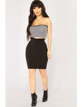 Look At My Ruffle Skirt   Black by Fashion Nova