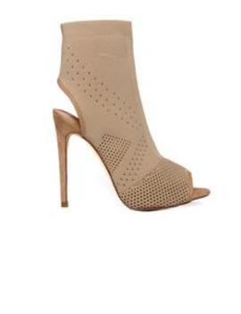 Peepin You Heel   Taupe by Fashion Nova