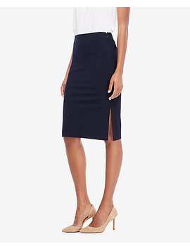 Curvy Seasonless Stretch Pencil Skirt by Ann Taylor